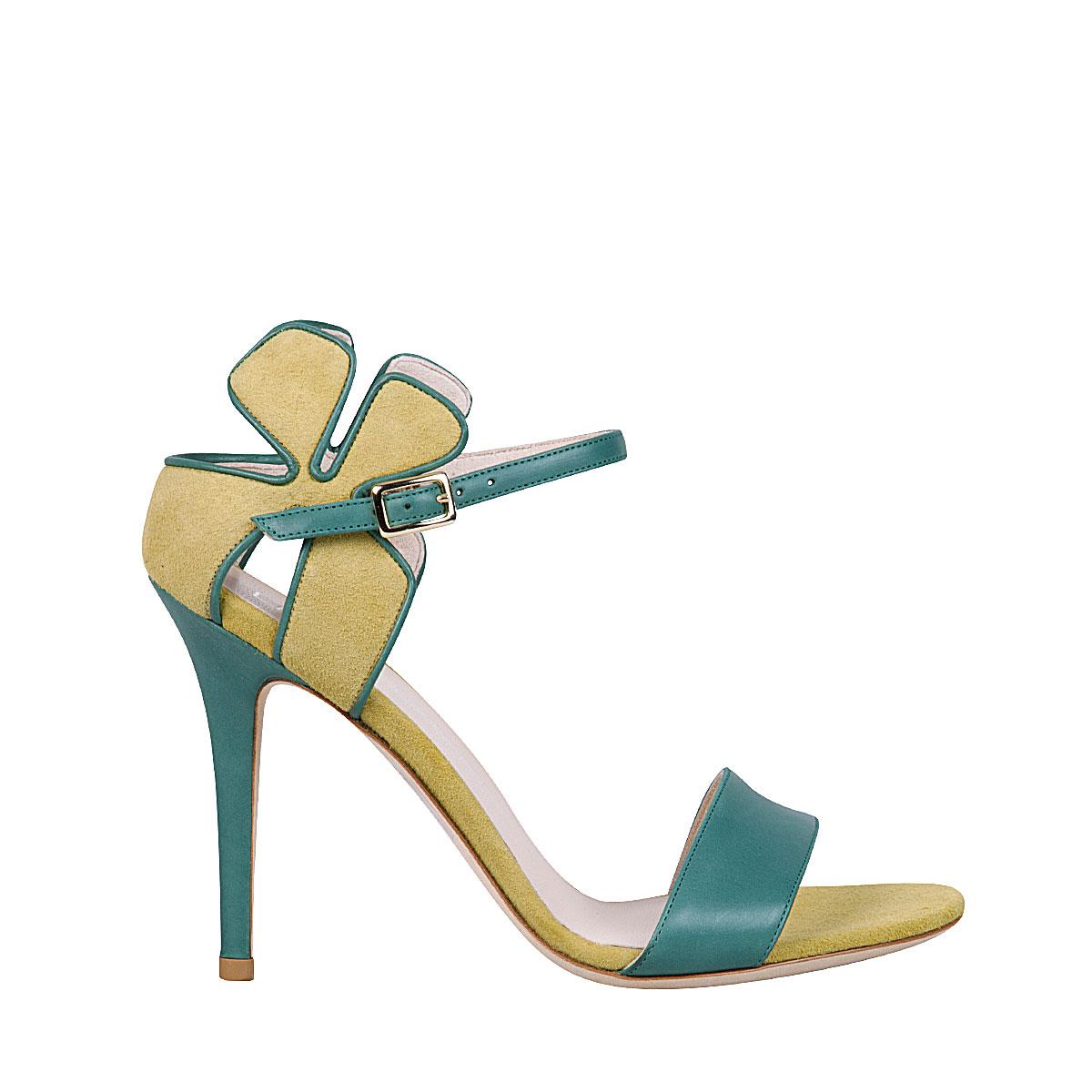 Lella Baldi - Daisy Sandal green