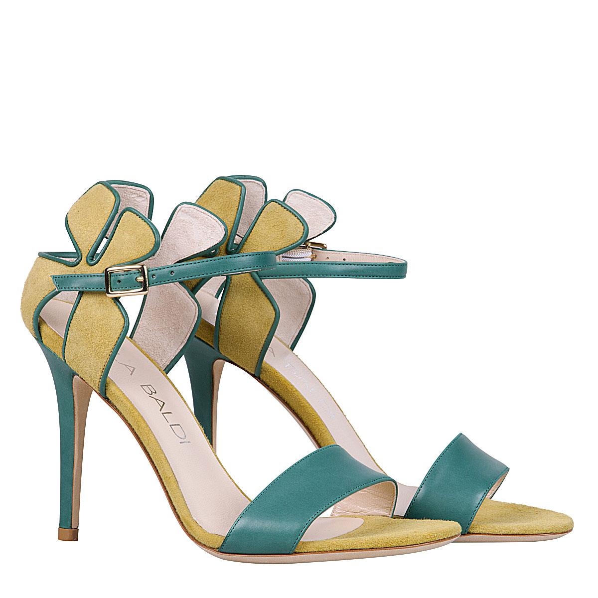 Daisy Sandal green