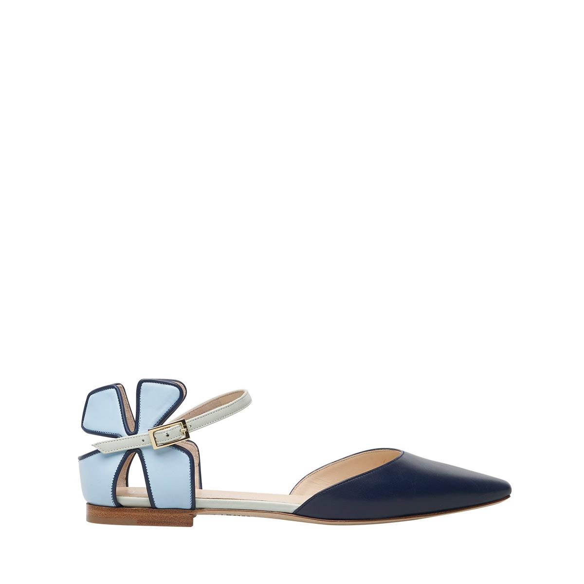 Daisy Flat Blue