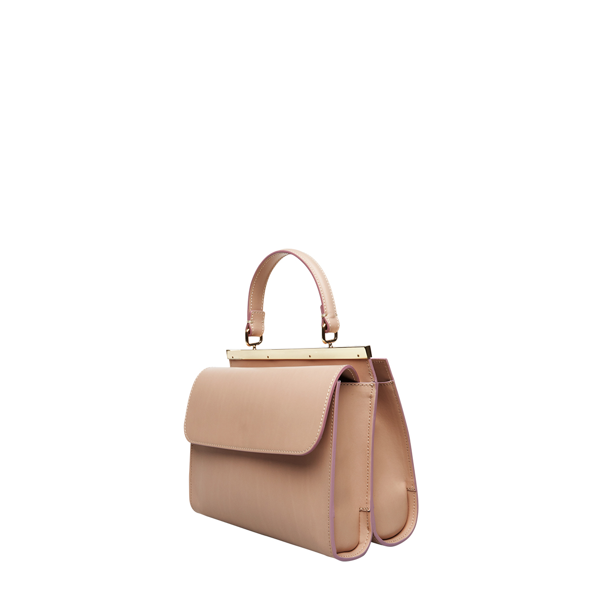 Wavy Bag Shoulder, Nude