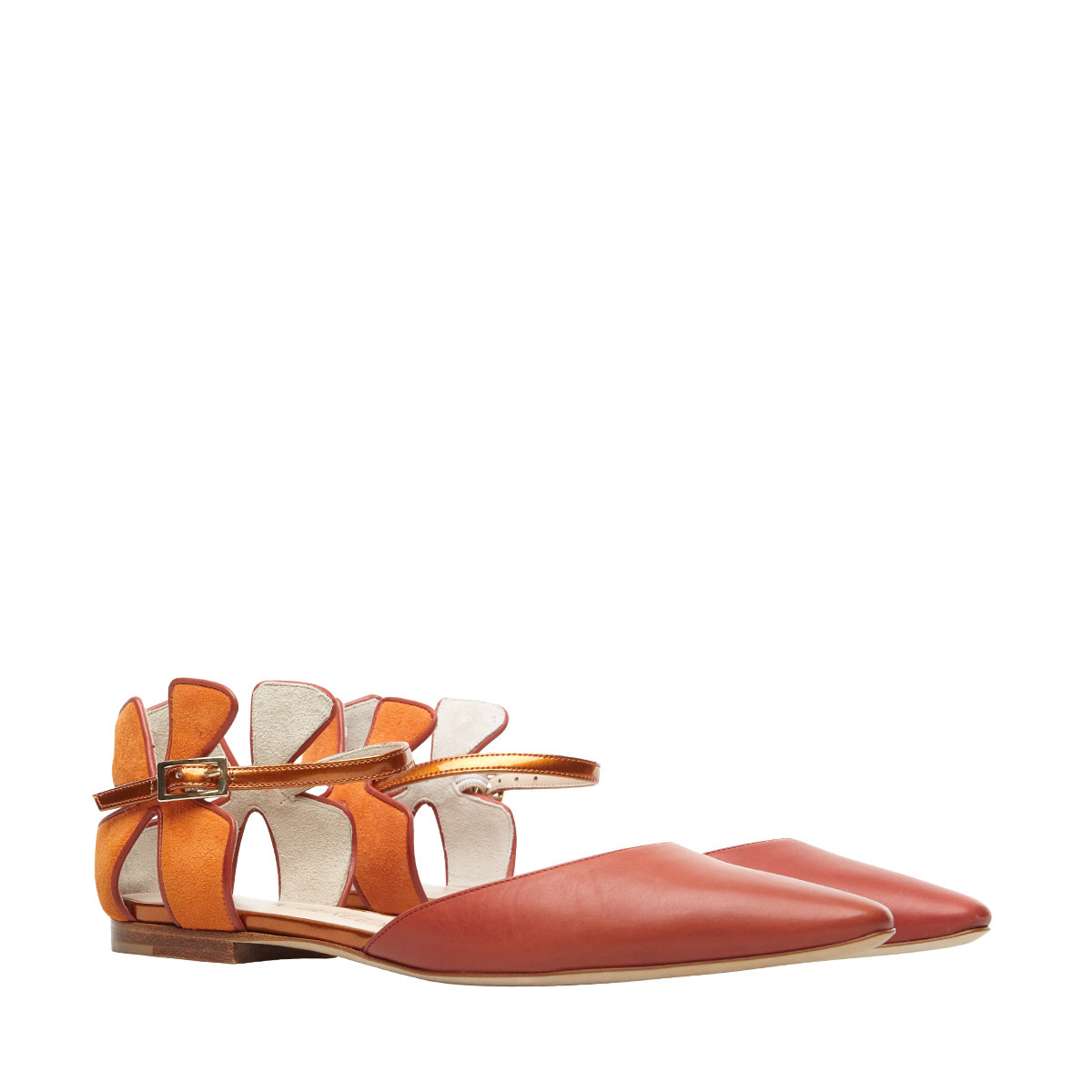 Daisy Flat Orange